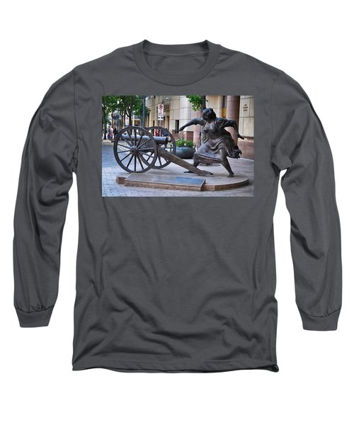 Angelina Eberly Of Austin Long Sleeve T-Shirt