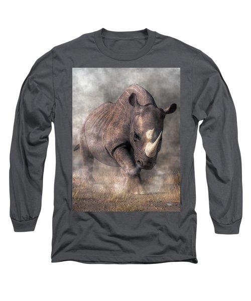 Angry Rhino Long Sleeve T-Shirt