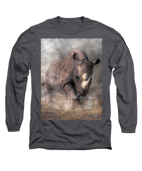 Angry Rhino Long Sleeve T-Shirt