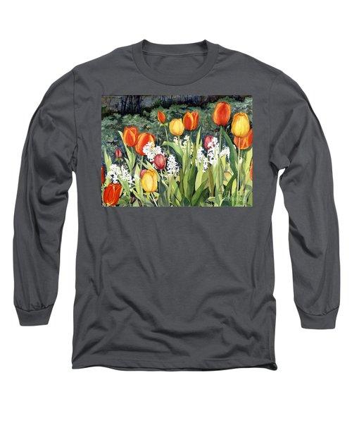 Ann's Tulips Long Sleeve T-Shirt