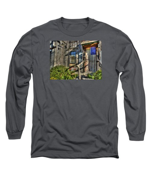 Long Sleeve T-Shirt featuring the digital art Another Faded Glory by William Fields