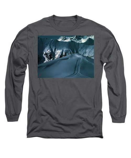 Another Late Day In The Mountains  Long Sleeve T-Shirt