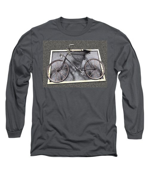 Antique Bicycle  Long Sleeve T-Shirt by Joyce  Wasser