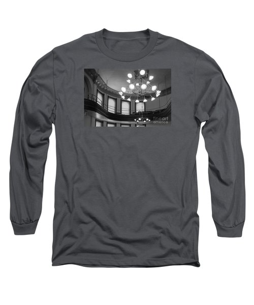 Antique Chandelier In Old Courtroom Long Sleeve T-Shirt