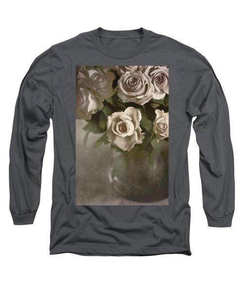 Antique Roses Long Sleeve T-Shirt