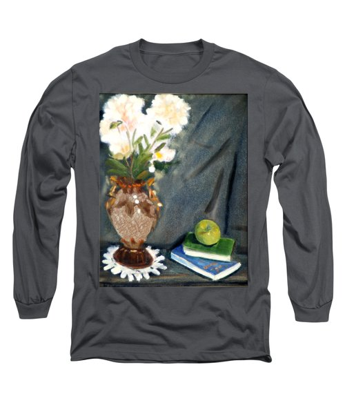 Antique Vase And Flower Long Sleeve T-Shirt
