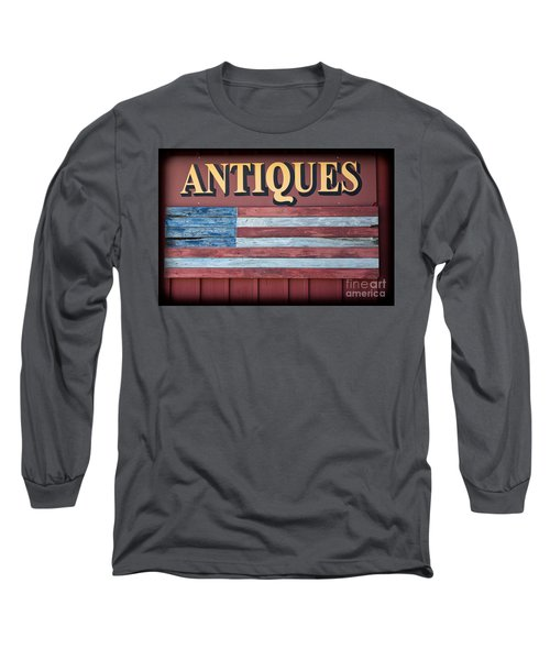 Antiques Long Sleeve T-Shirt by Colleen Kammerer