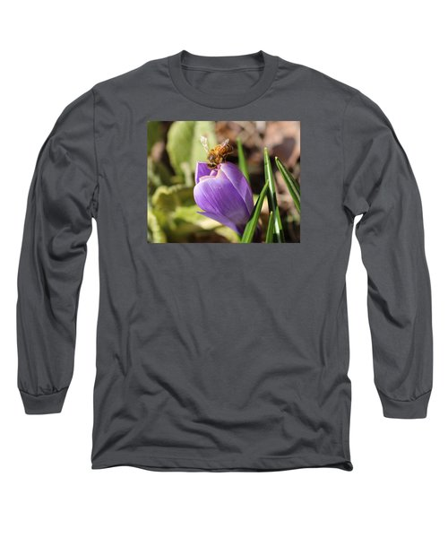 Anything Good In There? Long Sleeve T-Shirt by Lucinda VanVleck