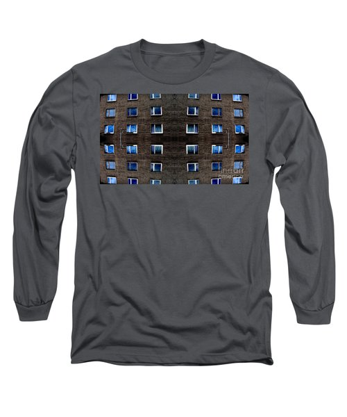 Apartments In Berlin Long Sleeve T-Shirt by Andy Prendy