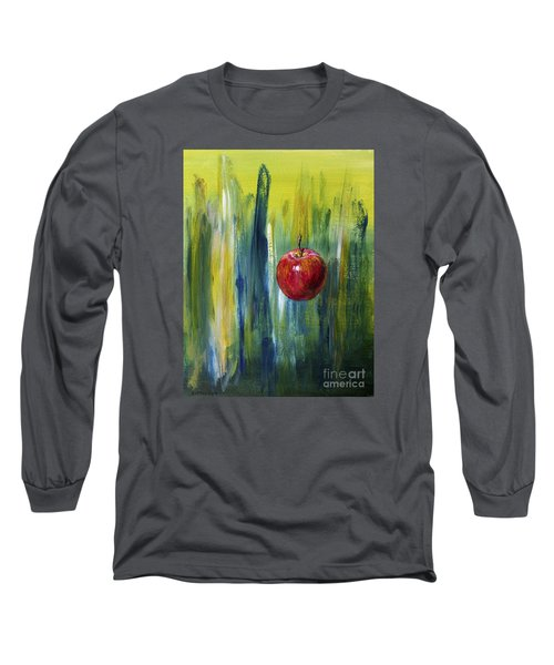 Apple Long Sleeve T-Shirt by Arturas Slapsys