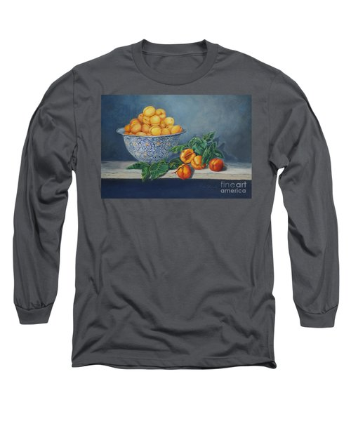 Apricots And Peaches Long Sleeve T-Shirt