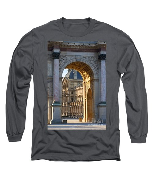 Arc De Triomphe Du Carrousel Long Sleeve T-Shirt