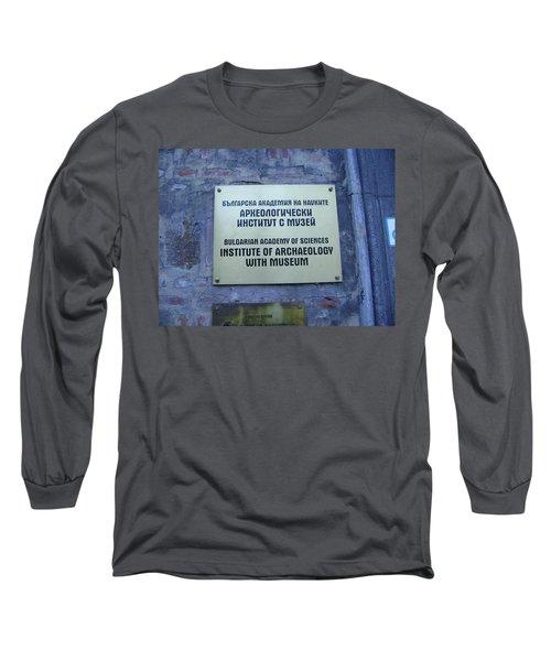 Archaeology Museum Long Sleeve T-Shirt