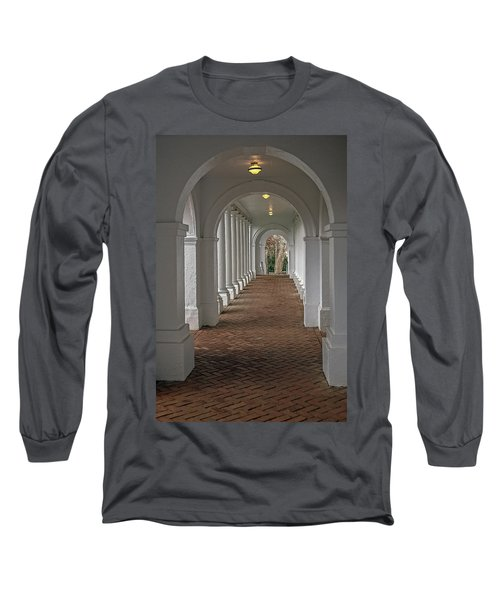 Arches At The Rotunda At University Of Va Long Sleeve T-Shirt