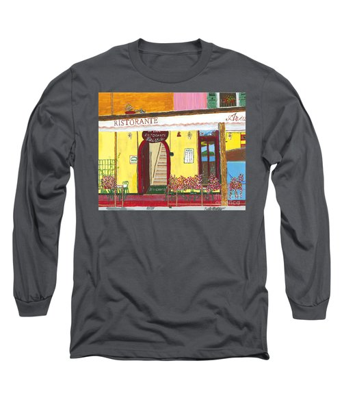 Aristede In Cinque Terra Long Sleeve T-Shirt