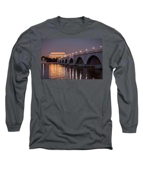 Arlington Memorial Bridge Long Sleeve T-Shirt