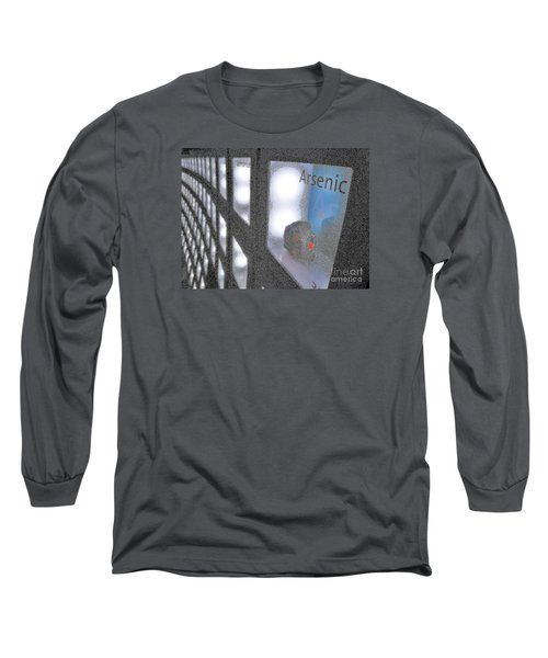 Long Sleeve T-Shirt featuring the photograph Arsenic No Lace by John King