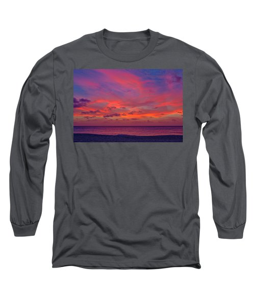Aruba Sunset Long Sleeve T-Shirt
