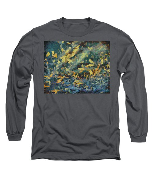 Long Sleeve T-Shirt featuring the painting As The Wind Blows by Joe Misrasi