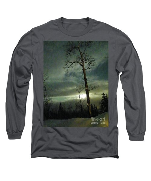 Aspen In Moonlight Long Sleeve T-Shirt