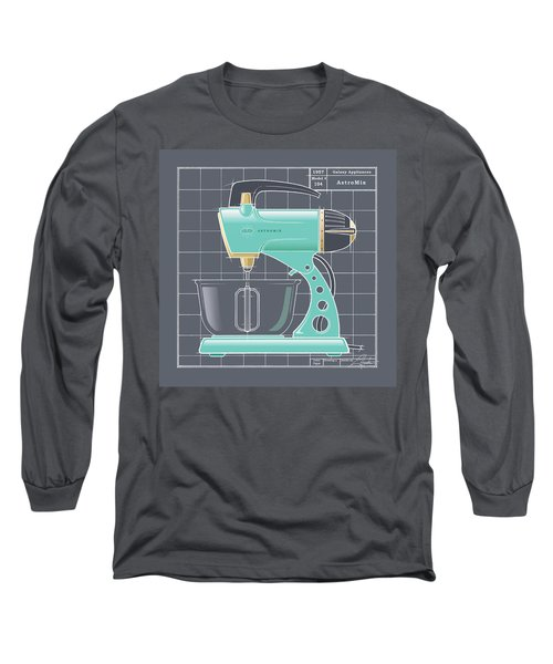 Astromix - Aqua Long Sleeve T-Shirt