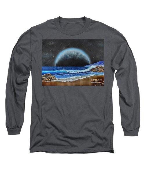 Astronomical Ocean Long Sleeve T-Shirt
