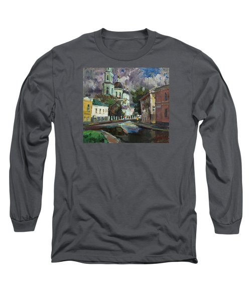 At The Church Sergius In Moscow Long Sleeve T-Shirt