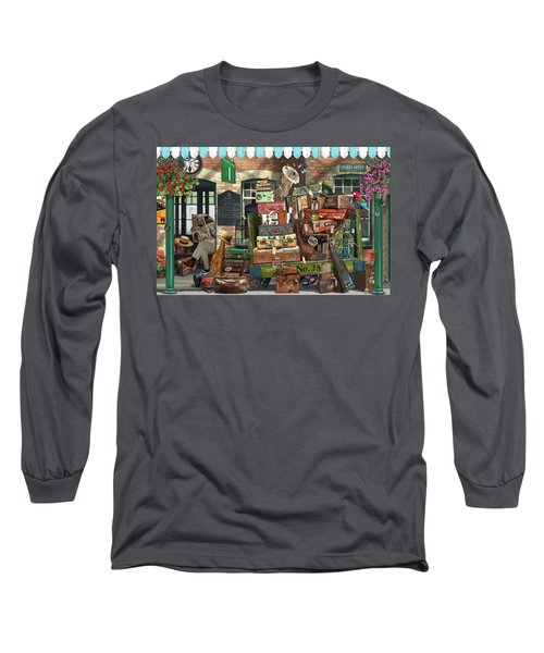 At The Train Station Long Sleeve T-Shirt