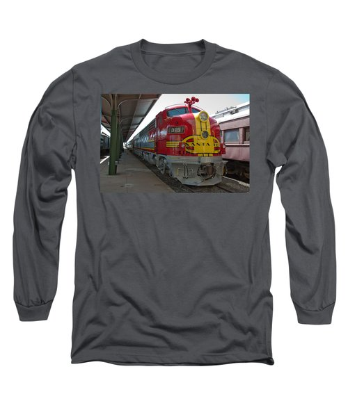 Atsf 315 Emd F7a Long Sleeve T-Shirt