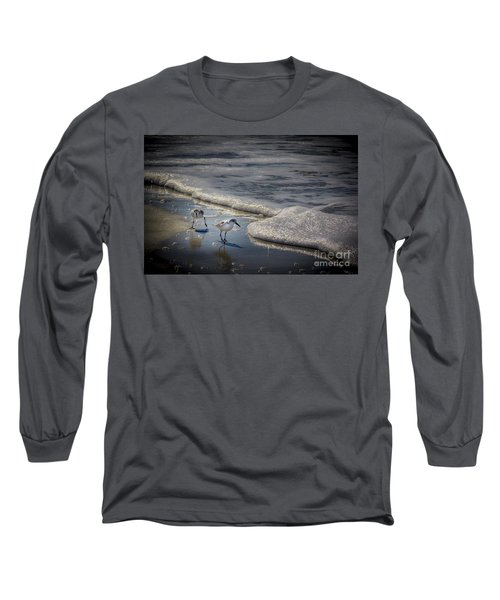Attack Of The Sea Foam Long Sleeve T-Shirt