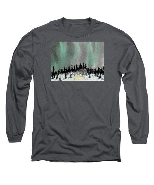 Aurora Magic - Dance Of The Lights Long Sleeve T-Shirt by R Kyllo