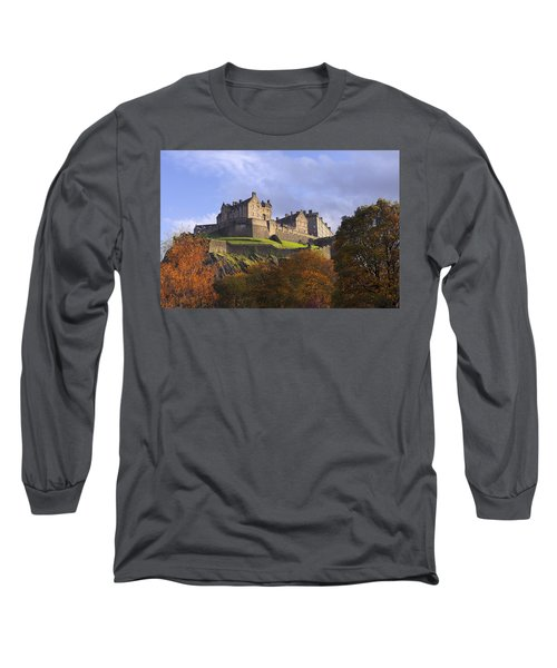 Autumn At Edinburgh Castle Long Sleeve T-Shirt