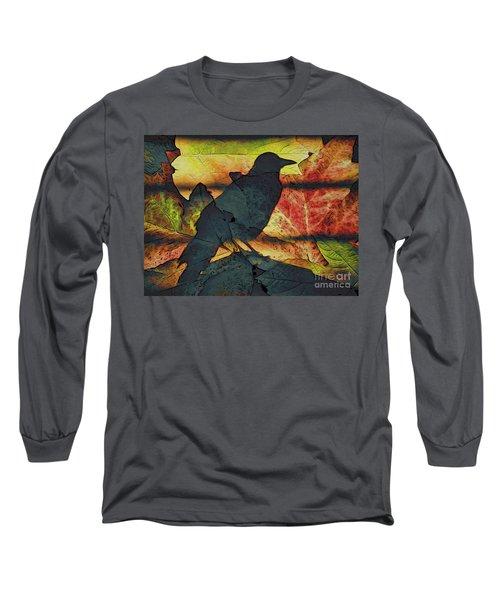 Autumn Bird Long Sleeve T-Shirt
