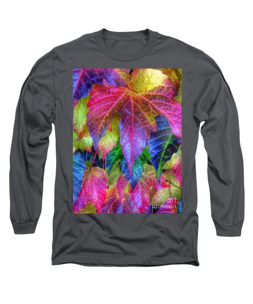 Autumn Bold Long Sleeve T-Shirt by Susan Garren