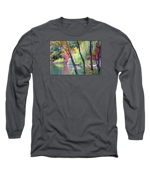 Autumn Fantasy Long Sleeve T-Shirt by Dora Sofia Caputo Photographic Art and Design