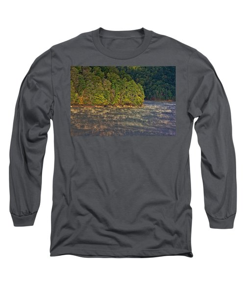 Autumn Mist Long Sleeve T-Shirt by Tom Culver