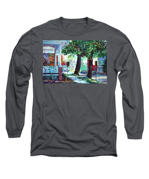 Autumn On East Main Long Sleeve T-Shirt