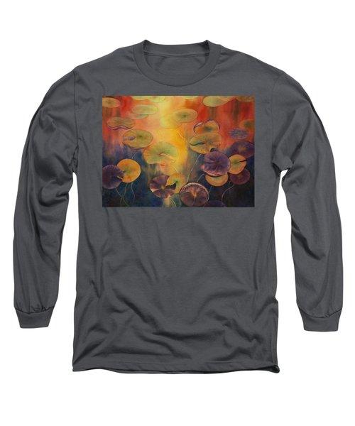 Autumn On Winslow Lake Long Sleeve T-Shirt