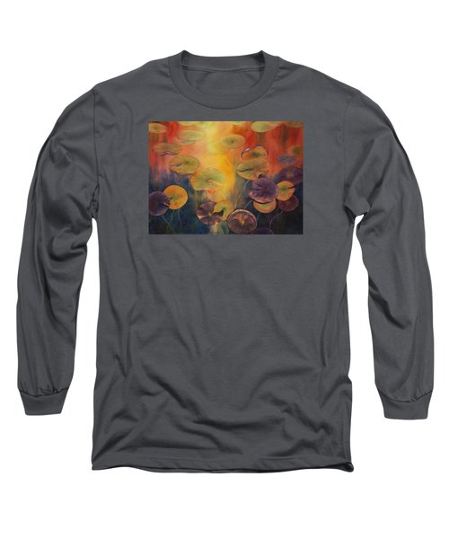 Autumn On Winslow Lake Long Sleeve T-Shirt