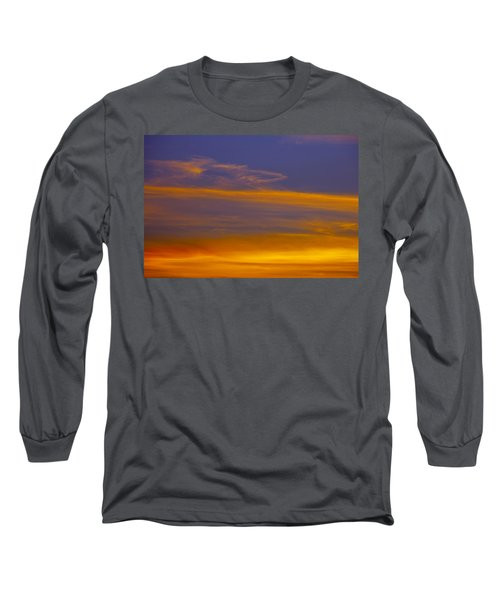Autumn Sky Landscape Long Sleeve T-Shirt