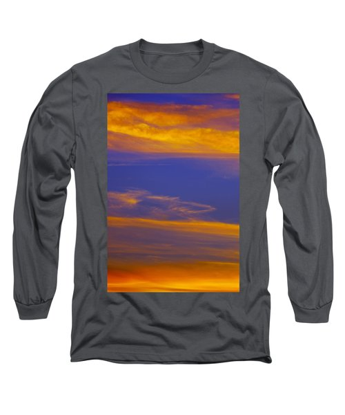 Autumn Sky Portrait Long Sleeve T-Shirt