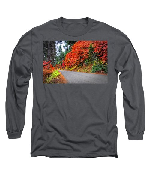 Long Sleeve T-Shirt featuring the photograph Autumn's Glory by Lynn Bauer