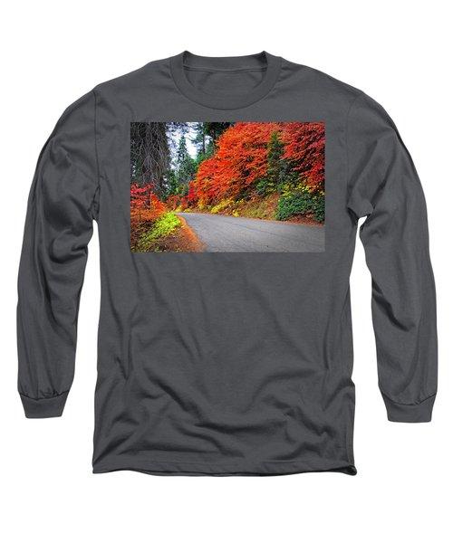 Autumn's Glory Long Sleeve T-Shirt by Lynn Bauer