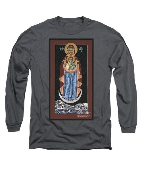 Ave Maris Stella  Hail Star Of The Sea 044 Long Sleeve T-Shirt