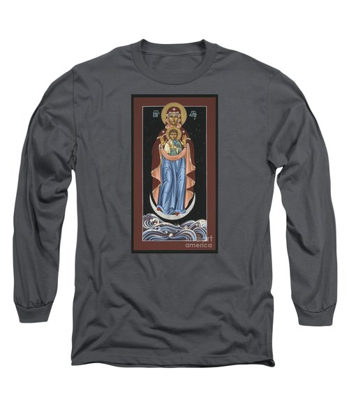 Ave Maris Stella  Hail Star Of The Sea 044 Long Sleeve T-Shirt