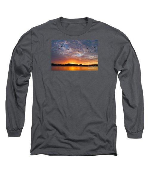 Awakening Long Sleeve T-Shirt by Alice Cahill