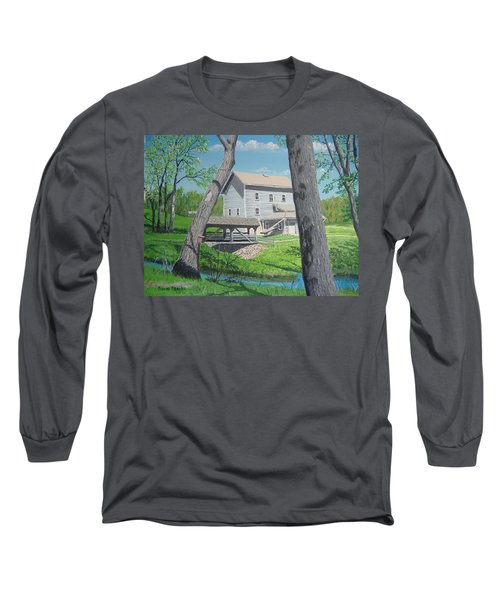 Award-winning Painting Of Beckman's Mill Long Sleeve T-Shirt