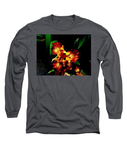 Awesome Iris Long Sleeve T-Shirt