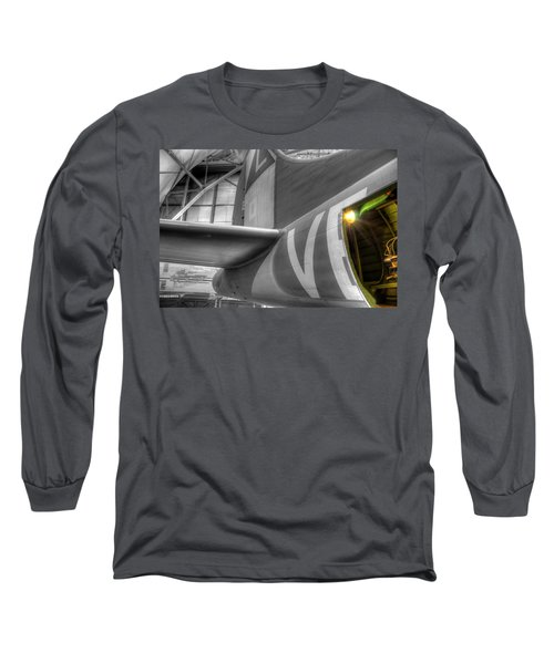 B-17 Bomber Tail Long Sleeve T-Shirt