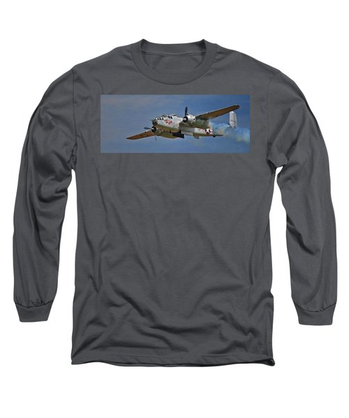 B-25 Take-off Time 3748 Long Sleeve T-Shirt